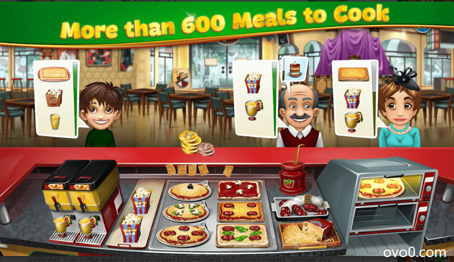 Cooking fever MOD APK 2020 Latest Version Download ( MOD, Unlimited Everything) 3