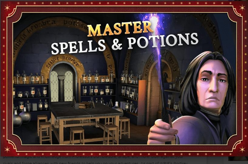 Harry Potter: Hogwarts Mystery MOD APK 2020 [ Unlimited Energy ] 3