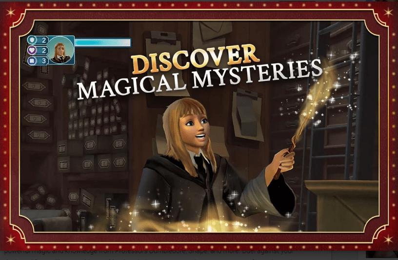 Harry Potter: Hogwarts Mystery MOD APK 2020 [ Unlimited Energy ] 4