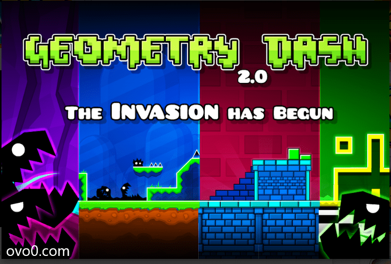 Download Geometry Dash Mod APK Version 2.3 – Latest 2020 Unlock Dash Mod Apk Unlimited Everything 1