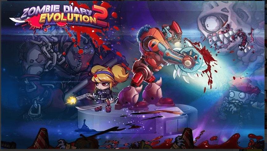 Zombie Diary 2 Mod APK v2.1.05 Download 2021 Latest Version New Diary Evolution 1