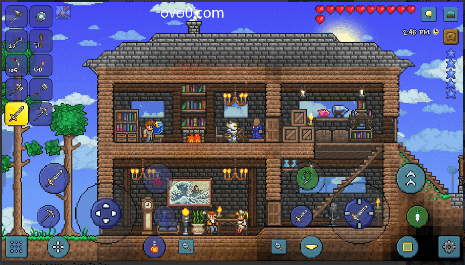 Terraria APK + MOD+OBB v2.1.1.0 Download for Android 2021 1